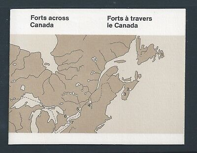 Canada Booklet 1985 Canadian Forts #BK87 MNH