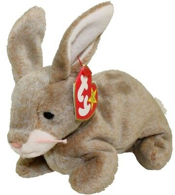 TY Beanie Baby - NIBBLY The Bunny (1998) RETIRED