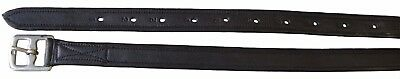 Soft Nappa Stirrup Leathers ~ Available In Black Or Brown  ~ Sizes 46' & 56'