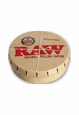 Raw Rolling Papers Click Clack Tin Pop top tin Stash Tobacco Storage Tin