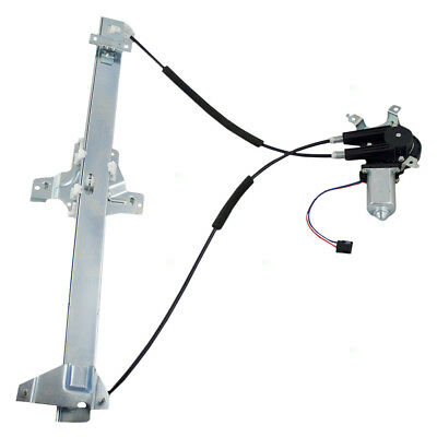 92-16 Ford E-Series Van Drivers Front Power Window Regulator w/ Motor Assembly