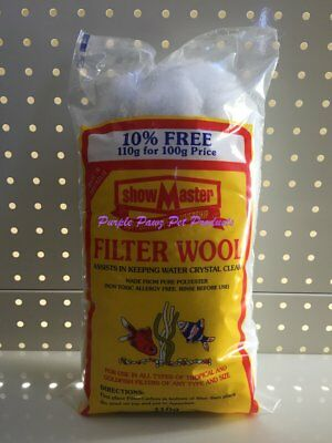 ~Showmaster / Filter Wool / 110G~