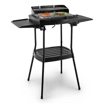 oneConcept Dr. Beef II Table Electric Grill Stand 2000W Thermostat