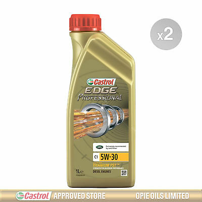 Castrol Edge Professional C1 5w-30 LR Fully Synthetic Engine Oil - 2 x 1 Litres