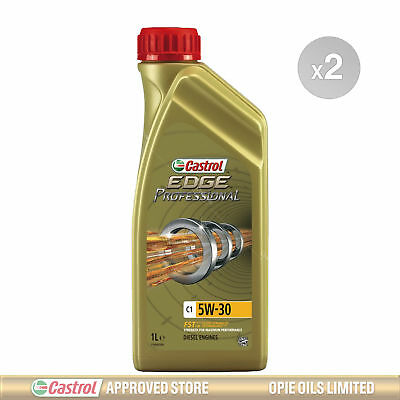 Castrol Edge Professional C1 5w-30 Fully Synthetic Engine Oil 2 x 1 Litres