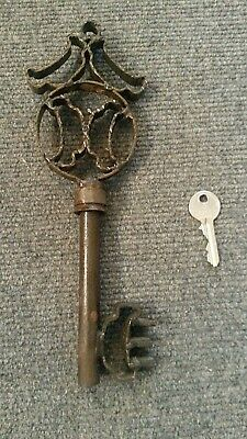 Antica Grande Chiave Ferro Forgiato - Castello, Abbazia Portone - Antique Keys