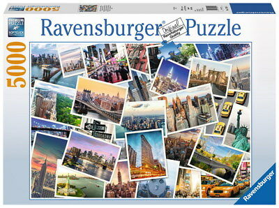 5000 Teile Ravensburger Puzzle New York the City never sleeps 17433