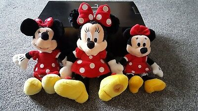Official Disney Minnie Mouse Soft Toys Excellent condition