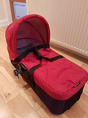Baby Jogger Compact Carrycot Red with adaptors