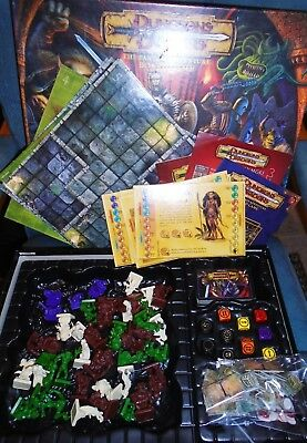 Dungeons And Dragons The Fantasy Board Game by Parker - Complete, Excellent