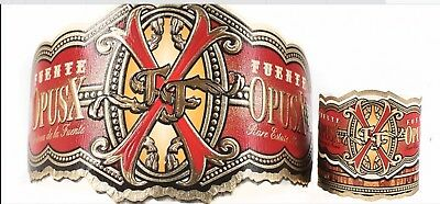 Fuete Opus X And Anejo Collectible Cigar Bands