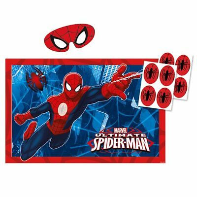 "Party-Spiel ""Spiderman-Party"" 10-tlg."