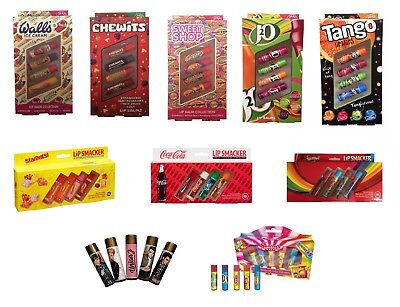 Fruity Flavour Lip Smacker Kids Lip Balm Gift Set Assortment Sets