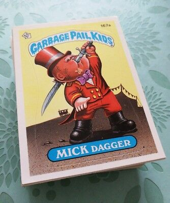 Garbage Pail Kids Original Series 5 Complete Base Set 80 Card Lot Near Mint