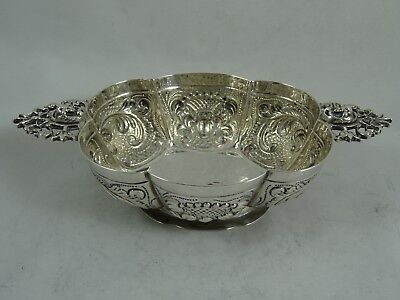 DUTCH, solid silver BRANDY BOWL, c1890, 115gm