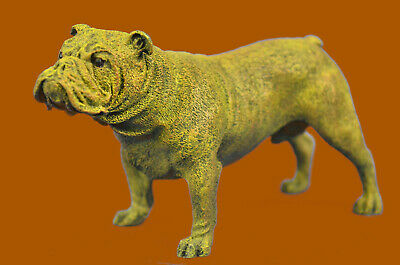 Hand Made Vienna Bronze Miniature French Bulldog Dog Bronze Sculpture Statue UG