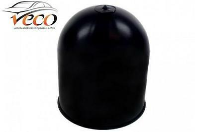 Standard Size 50Mm Black Plastic Towball Trailer Towing Cap Cover Maypole Mp244B