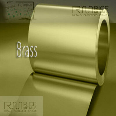 BRASS Sheet 0.3mm Thick/Thin Coil Brass Various Lengths/IDEAL CRAFT ENGINEERING