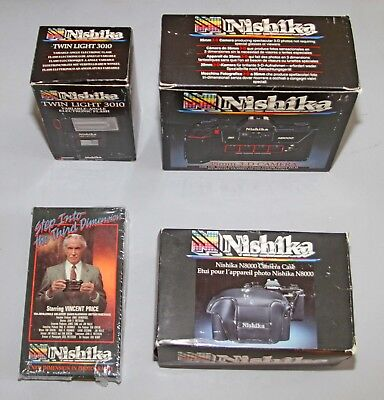 Nishika N8000 35mm 3-D Camera NEW.