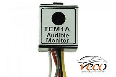 Replacement Caravan 12V Relay Professional Audible Sensor Buzzer Tem1A Mp3870B