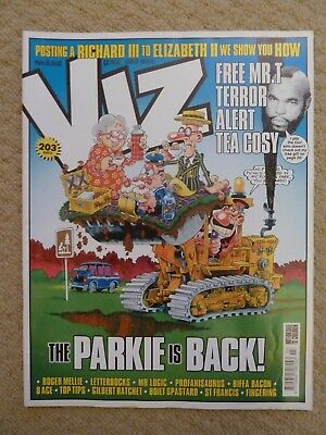 Viz Comic #203 (March 2011) / British Adult Humour