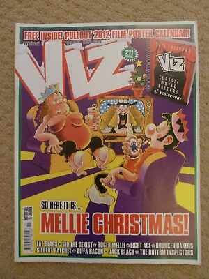 Viz Comic #211 (Christmas 2011) / British Adult Humour (includes 2012 calendar)