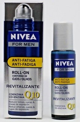Roll-on Nivea for men Anti-fatiga Revitalizante Q10 Hombre Revitalizing Eye