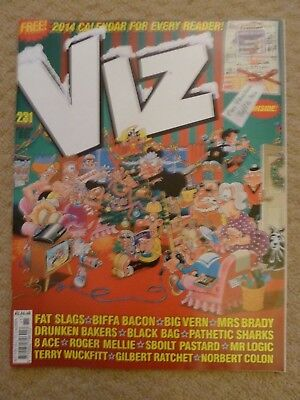 Viz Comic #231 (Christmas 2013) / British Adult Humour (includes 2014 calendar)