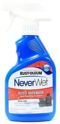 Rusto-oleum Never Wet Auto Interior Liquid Repelling Treatment 11oz Bottle