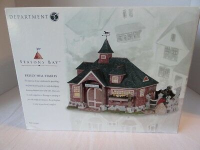 Dept 56 Seasons Bay Breezy Hill Stables 53447 Livery