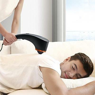 Electric Massager Heat & Deep Tissue Muscle Pain Relief Handheld Back Massage
