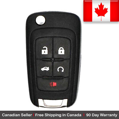 1x New Replacement Remote Control Key Fob For Buick Chevy GMC OHT01060512