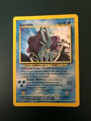 Pokemon - Suicune Holo Legendario 14/64 Set Neo Revelation