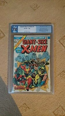Giant Size X-Men 1975 #1 PGX 7.0 High Grade - Marvel Comics