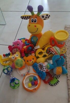 Baby Soft Toys And Rattles