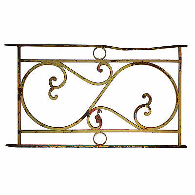 Antique Ironwork Panel with Volutes, NG23