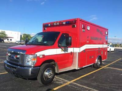 2008 Ford E-450 MedTec Ambulance Type III NEW ENGINE-only 12K miles! Chassis 47K