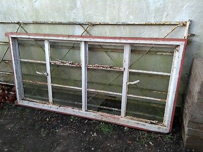 CRITTALL WINDOW, 4 Panel in Wooden Frame for Refurbishment Good Condition