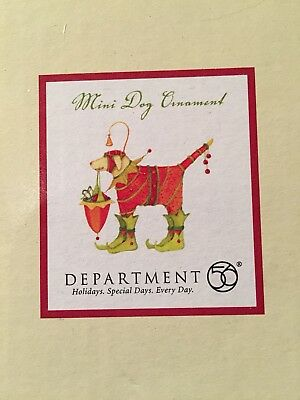 Department 56 Patience Brewster Mini Dog Ornament Golden Retriever