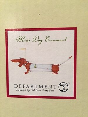 Department 56 Patients Brewster Mini Dog Ornament Dachshund