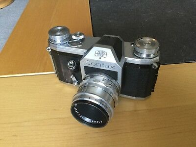 Zeiss Ikon Contax D with Zeiss Jena Tessar 50mm f2.8 and Zeiss Jena 29mm f2.8