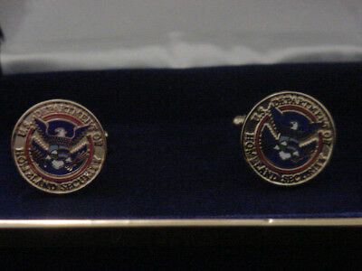 Department Of Homeland Security Cufflinks  New
