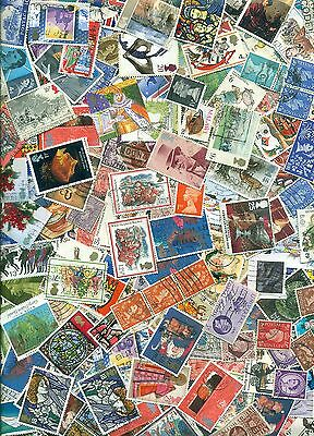 GB 6 Reigns, many HV Kiloware 50g stamps off paper mix, approx 12,000 per kg