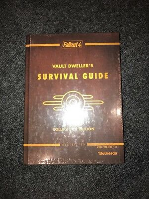 Fallout 4 Collector's Edition Vault Dweller's Survival Guide SEALED NEW