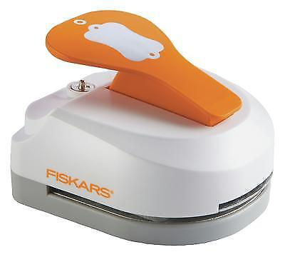 Fiskars 3-in-1 Tag Maker Tool Punch with Built In Eyelet Setter ~ LABEL ~ Tag