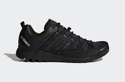meilleur service 3fb75 13308 ADIDAS TERREX SOLO black mens size 10 approach shoes new in box