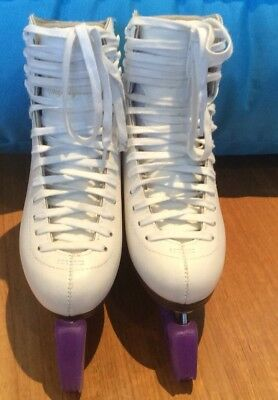 Girls Figure Ice Skates