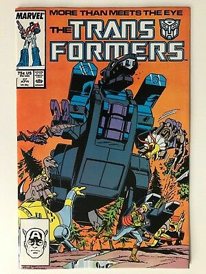1987 Marvel THE TRANSFORMERS # 27, 1st Trypticon Appearance, Near Mint!