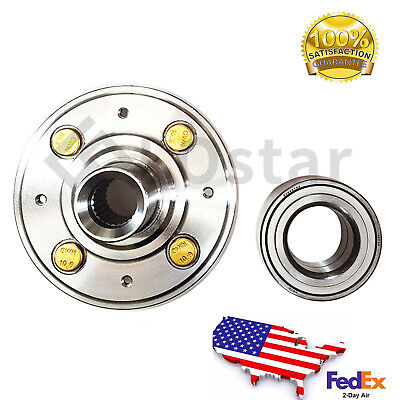 Front Wheel Hub & Bearing Set For Honda Civic EX, Civic W/ABS / Acura Integra