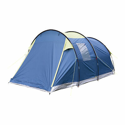 Trespass Caterthun 4 Person Man Waterproof Tent Perfect for Camping Festival